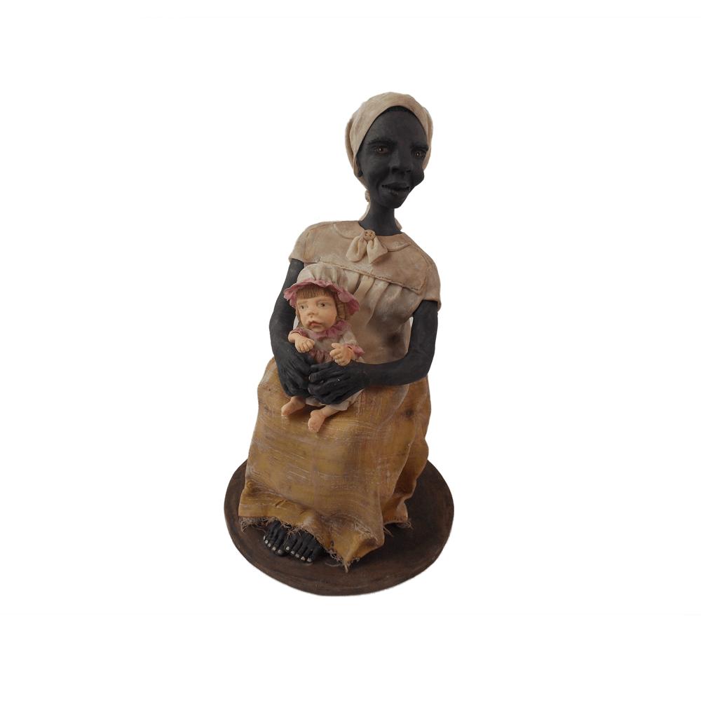 Escultura Bá